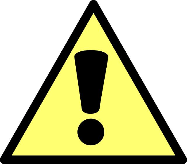 Предупредительный знак