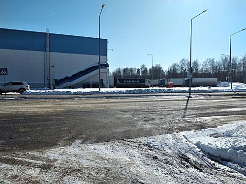 Площадка завода Кампина