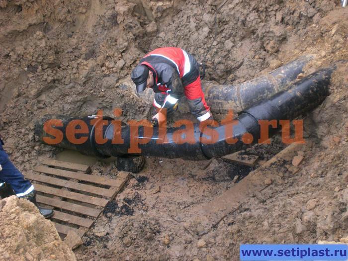 Третий ремонт трубопровода