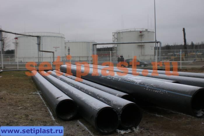 Труба ПЭ для футляра нефтепровода