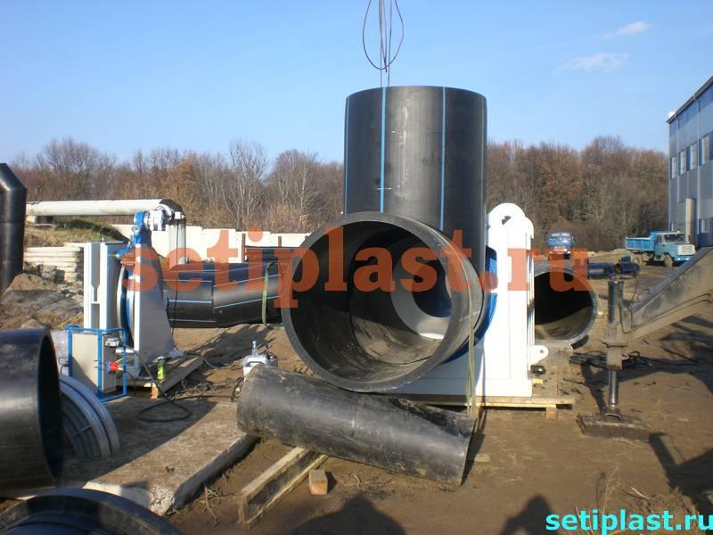 Сегментно-сварной тройник 1200 мм