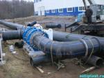 Утка из отводов ПНД 800 мм