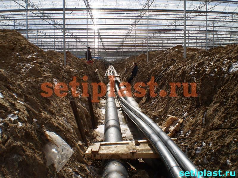 Основная и резервная ветки водопровода