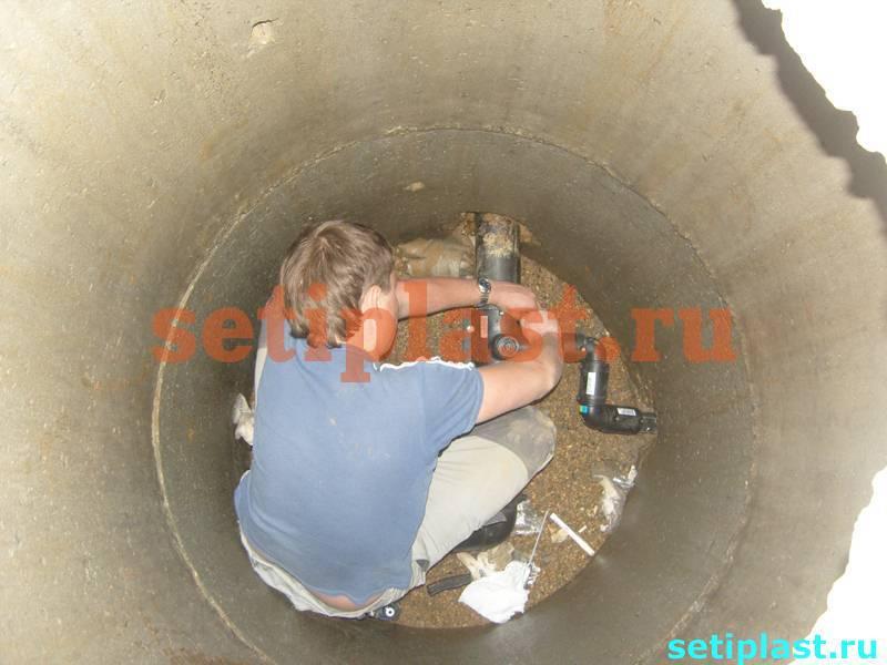 Зачистка трубы ПНД