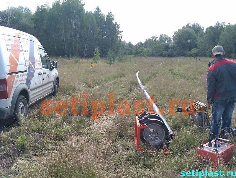 Плеть ПЭ в поле и авто