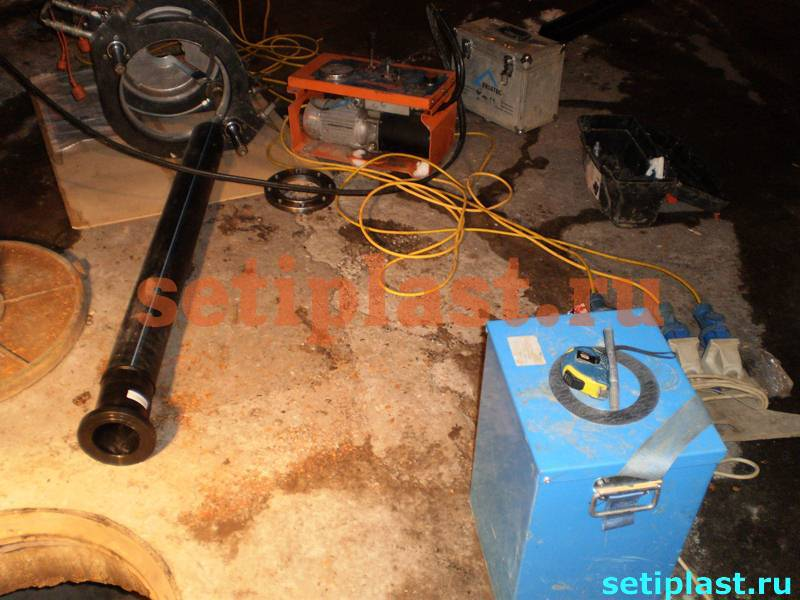 Оборудование и материал для ремонта